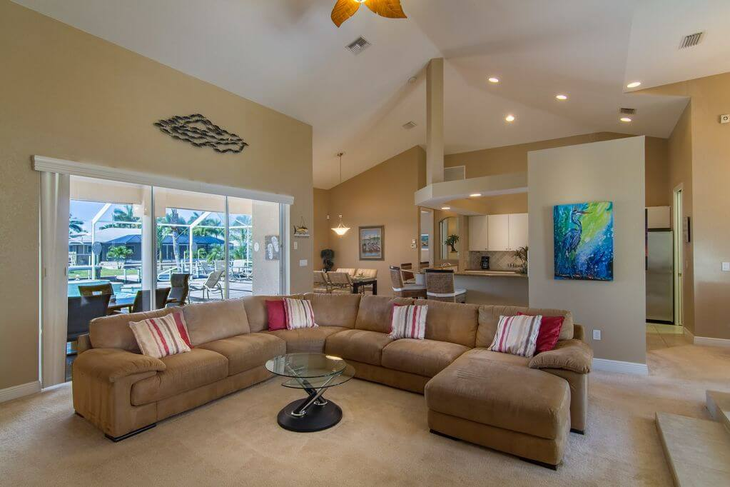 Dům v Yacht Clubu Cape Coral na Floridě
