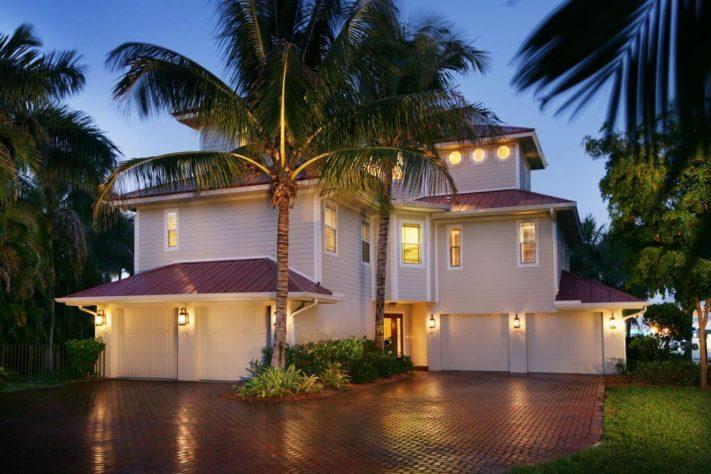 Vila s exotickým bazénem