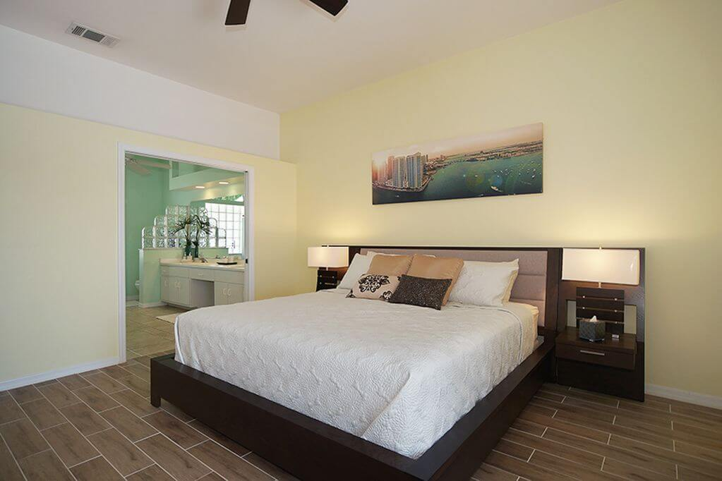 Luxusní bungalov s bazénem v Cape Coral