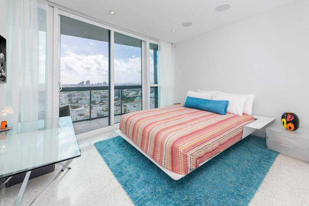 Luxusní apartmán v hotelu Setai na Miami Beach