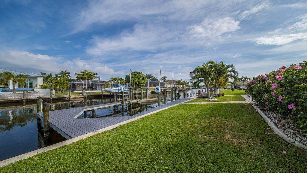 Dům u vody v Cape Coral