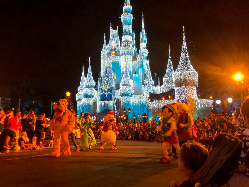Disney World - vánoce na Floridě